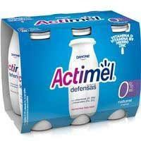 ACTIMEL LIQUID DESCREMAT 0%MG 6X100ML