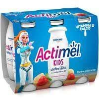 ACTIMEL LIQUID MAD/PLA 6X100ML