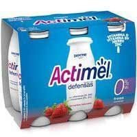ACTIMEL LIQUID MADUIXA 0%MG 6X100ML