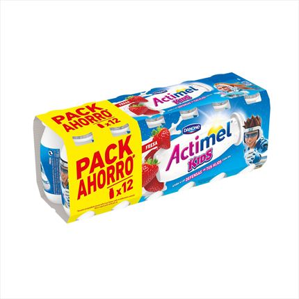 ACTIMEL LIQUID MADUIXA 12X100ML