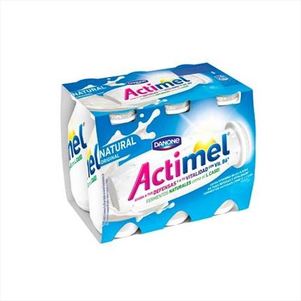 ACTIMEL LIQUID NATURAL 6X100ML