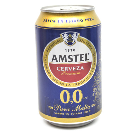 AMSTEL CERVESA S/ALCOHOL 33CL