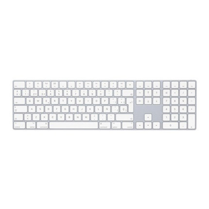 APPLE MAGIC KEYBOARD WITH NUMERIC KEYPAD  SPANISH  SILVER