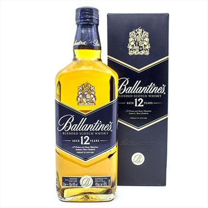 BALLANTINES BLUE 12A 70CL