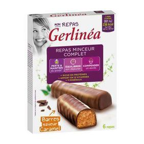 BARRES CARAMEL GERLINEA 372G