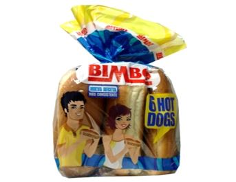BIMBO HOT DOGS X6