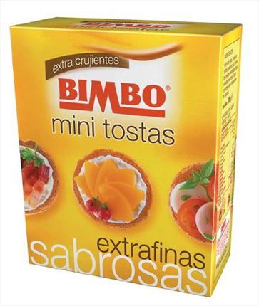 BIMBO MINI TOSTAS RODONES
