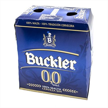 BUCKLER CERVESA S/ALCOHOL 6X25CL