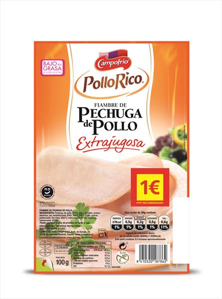 CAMPOFRIO PIT POLLASTRE 100GR