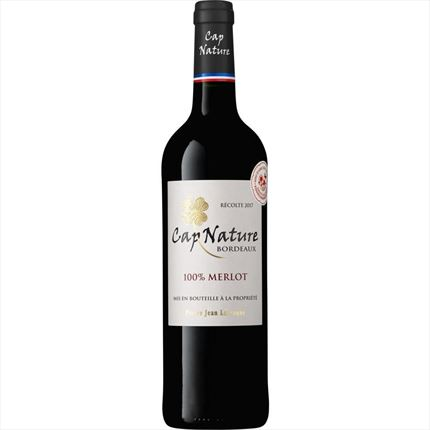 CAP NATURE  BORDEAUX 17 VERMELL, 75CL