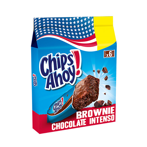 CHIPS AHOY BROWNIE XOCO INTENS X6