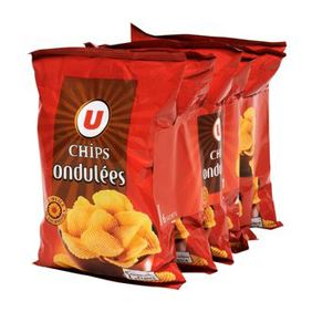 CHIPS ONDULEES EASY U ST 6X30G