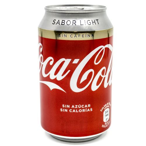 COCA COLA LIGHT S/CAFEINA LLAUNA  33CL