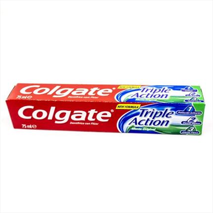 COLGATE  DENTIFRIC TRIPLE ACCI? 75ML