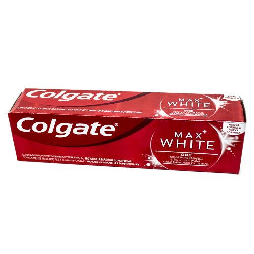 COLGATE MAX WHITE TUB 75ML