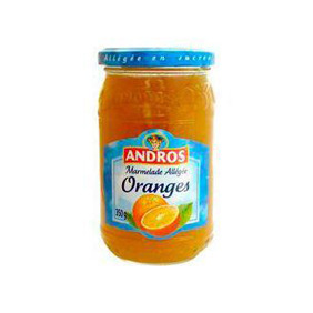 CONF.ORANGE ALLEGE ANDROS 350G