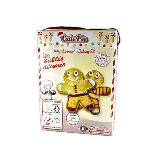 CUTIE PIE KIT DECORACIO GALETES 300GR