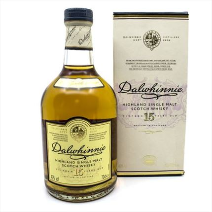 DALWHINNIE 15ANYS 70CL.
