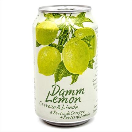 DAMM LEMON 33CL LLAUNA