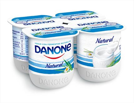 DANONE IOGURT NATURAL 4X125GR
