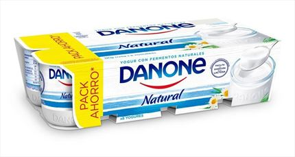 DANONE IOGURT NATURAL 8X125GR