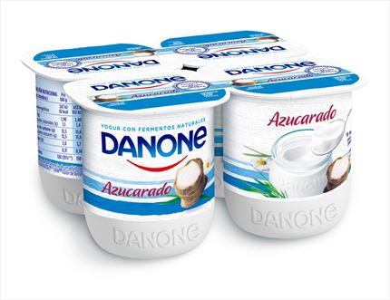 DANONE IOGURT NATURAL ENSUCRAT  4X125GR