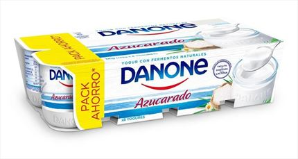 DANONE IOGURT NATURAL ENSUCRAT  8X125GR