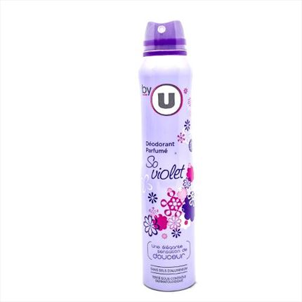 DEO.F.24H SO VIOLET BY U 200ML
