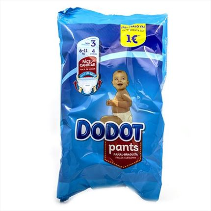 DODOT PANTS T3 PACK 4