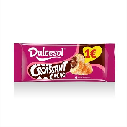 DULCESOL CROISSANT CACAO 225G
