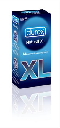 DUREX NATURAL XL 12UNI