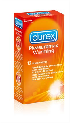 DUREX PLEASUREMAX CALOR 12UNI.