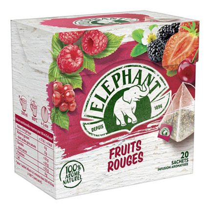 ELEPHANT INF.FRUITS VERMELLS X20
