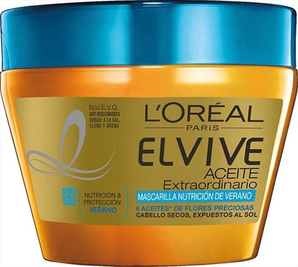 ELVIVE MASCARETA 300ML OLI EXTRAORDINARIO