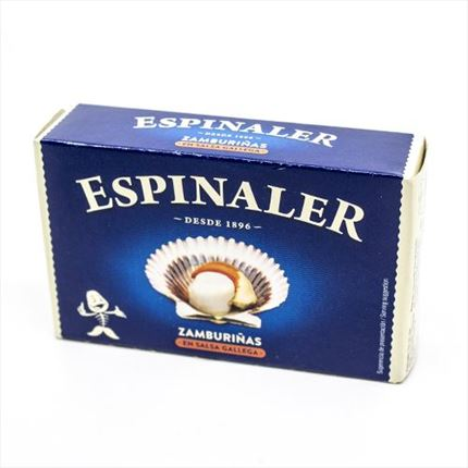 ESPINALER ZAMBURI?AS AMB SALSA GALLEGA 120GR