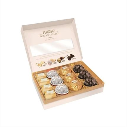 FERRERO GOLDEN GALLERY T13 122GR