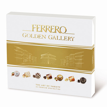 FERRERO ROCHER GOLDEN GALLERY 389,5GR