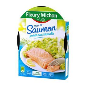 FILET DE SAUMON BROCOLIS 300G