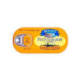 FILETS ANCHOIS ALLONGES 50G