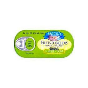 FILETS ANCHOIS ROULES 50G