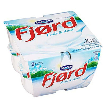 FJORD IOGURT NATURAL 8X125GR