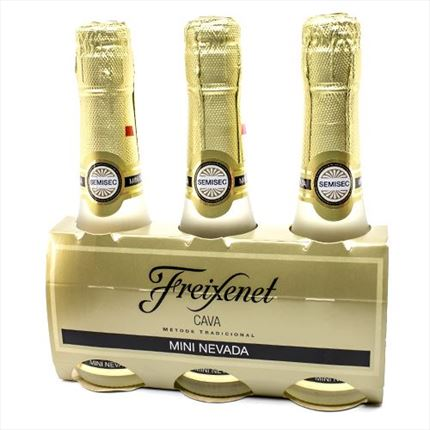 Freixenet Mini Nevada  Semi sec Cava  20cl.x3