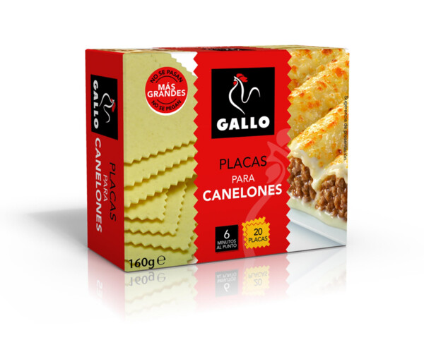 GALLO CANELONS X20 125GR