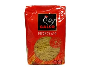 GALLO FIDEUS N?4 500GR