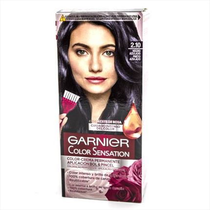GARNIER COLOR SENSATION 2.10 BLACK