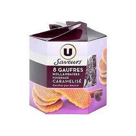 GAUFRES HOLLAND.CAR.U SAV.250G