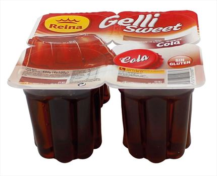 GELLY-SWEET COLA 4X100GR
