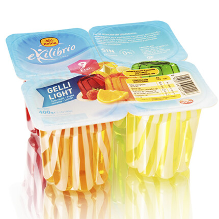 GELLY-SWEET LIGHT 4GUSTOS 4X100GR