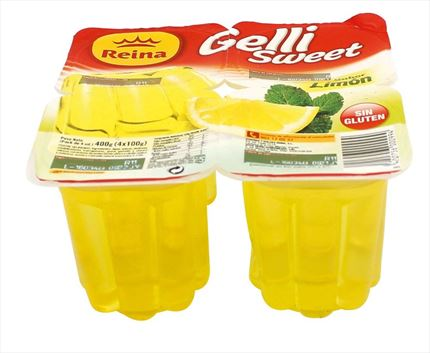 GELLY SWEET LLIMONA 4X100GR