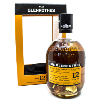 GLENROTHES 12 ANYS, 70CL.